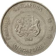 Singapour, 10 Cents, 1986, British Royal Mint, TB+, Copper-nickel, KM:51 - Singapour