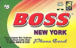 IDT: UTA Boss - New York 11.2008 - Vereinigte Staaten