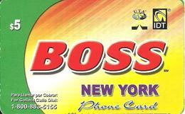 IDT: UTA Boss - New York 12.2007 - Sonstige