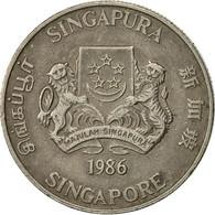 Singapour, 20 Cents, 1986, British Royal Mint, TB+, Copper-nickel, KM:52 - Singapour