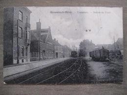 Cpa Strombeek-Bever Grimbergen - Tramstatie - Gare Station De Tram - Chemin De Fer - 1926 - Grimbergen