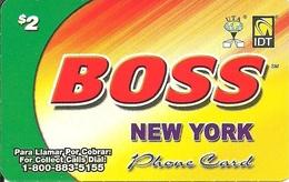 IDT: UTA Boss - New York 08.2009 - Sonstige