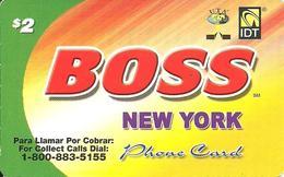 IDT: UTA Boss - New York 09.2008 - Vereinigte Staaten