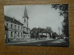 Genlis La Mairie , L'église Et La Poste - France