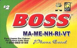 IDT: UTA Boss - MA-ME-NH-RI-VT 10.2008 - Sonstige