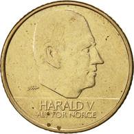 Norvège, Harald V, 10 Kroner, 1996, TTB, Nickel-brass, KM:457 - Norvège