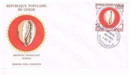 Brazzaville Rép. Populaire Du Congo Monnaies Anciennes Congolaise DZEKE 3.10.75 - FDC