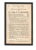 P 478.Z.E.H. GEUSENS - °BREE 1829 /LUIK/ZONHOVEN/HOUTHALEN/SINT-TRUIDEN En Aldaar +1911 - Images Religieuses