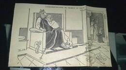 Affiche (dessin) - L'excommunication De CHARLES LE VIEUX - Affiches