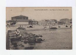 Palavas Les Flots. La Plage Et Les Chalets, Rive Gauche. (2824) - Palavas Les Flots