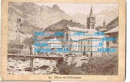 Photo 38 Isère LE PERIER EN VALBONNAIS ( église Habitation Pont Rivière ) Cliché D'origine Utilisé Pour Des Cp - Photos