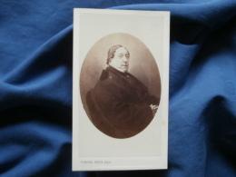 Photo CDV Pierre Petit à Paris - Second Empire Le Compositeur Rossini Vers 1865 L377 - Foto