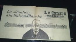 Affiche (dessin) -  La Situation à La MAISON BLANCHE ..... - Affiches