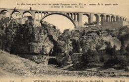 B 4892 - Algérie    Constantine     Le Plus Haut Pont De Pierre Du Monde - Constantine