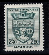 YV 560 N** 2eme Armoirie - France