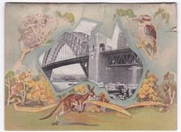 Souvenir Greetings From Australia (150 Years 1788-1938 Australia's Anniversary) - Australie