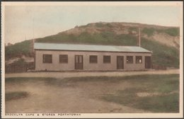 Brooklyn Cafe & Stores, Porthtowan, Cornwall, C.1920 - Treseder Postcard - England