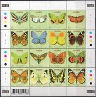 MiNr. 1217-30 (Kleinbogen)  Schmetterlinge - Postfrisch - Schmetterlinge