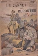 """COLLECTION """"PATRIE"""" - N°62 - LE CARNET D'UN REPORTER - Guerre 1914-18"""