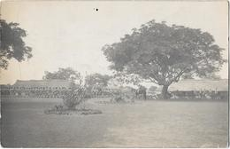 NIGER - RENTREE DE L'EXERCICE Des TIRAILLEURS En POSTE Au NIGER  Janvier 1924 - Carte Photo - Niger