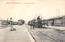CPA 76  -  BREAUTE BEUZEVILLE, Interieur De La Gare - Francia