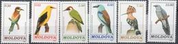 MiNr. 14-19   Freimarken: Vögel - Postfrisch - Moldawien (Moldau)