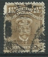 Rhodesie Du Sud    -  Yvert N°  3  Oblitéré -  Bce 13943 - Southern Rhodesia (...-1964)