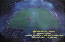 CPM - LYON - Finale De La Coupe -  1er Avril 2017 - Stades