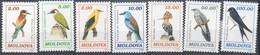 MiNr. 56-62   Freimarken: Vögel - Postfrisch - Moldawien (Moldau)