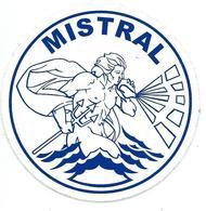 168 - MARINE NATIONALE - AUTOCOLLANT  - BPC MISTRAL - Stickers