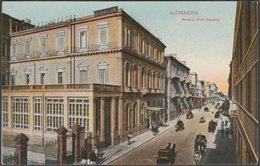 Avenue Port Kasette, Alexandria, C.1910s - Cairo Postcard Trust - Alexandria