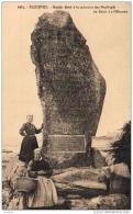 D29  PLOZEVET  Menhir élevé à La Mémoire Des Naufrages Du Droit De L' Homme  ..... - Autres Communes