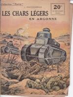 """COLLECTION """"PATRIE"""" - N°131 - LES CHARS LEGERS EN ARGONNE - Guerre 1914-18"""