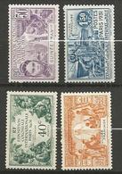 GUINEE N° 115 à 118 NEUF* AVEC OU TRACE DE CHARNIERE  / TB - Unused Stamps
