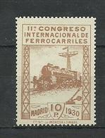 ESPAÑA 1930  Mi:ES 456,  Yt:ES 441, Edi:ES 481 MNH ** - Unused Stamps