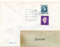 SEINE Et OISE - Dépt N° 78 =  THIVERVAL GRIGNON 1955 = FLAMME DAGUIN '  CHATEAU / GARDEN PARTY ' - Poststempel (Briefe)