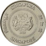 Singapour, 10 Cents, 1989, British Royal Mint, TTB, Copper-nickel, KM:51 - Singapour