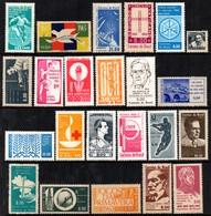 Brasil C 0483 / 0505 Selos Comemorativos Completo 1963 NNN - Brasilien
