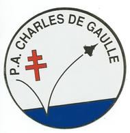 187 - MARINE NATIONALE - AUTOCOLLANT  - P.A. CHARLES DE GAULLE - Stickers