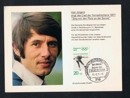 Udo Jürgens 1971 Fernsehlotterie - Sänger Und Musikanten