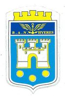 188 - MARINE NATIONALE - AUTOCOLLANT  - B.A.N. HYERES - Stickers