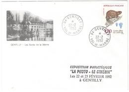 FRANCIA - France - 1992 - 4,00 Le Castor - Seul - Enveloppe Illustrée, Les Bords De La Bièvre - Viaggiata Da Gentilly Pe - Storia Postale