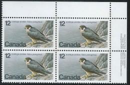 CANADA 1978 SCOTT 752** PLATE BLOCK UR - 1952-.... Elizabeth II