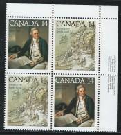CANADA 1978 SCOTT 763-764** PLATE BLOCK UR - 1952-.... Reign Of Elizabeth II