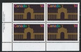 CANADA 1978 SCOTT 767** PLATE BLOCK LL - 1952-.... Elizabeth II