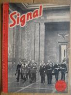 REVUE SIGNAL 1940 OCTOBRE N°14 - Le JAPON & Le Pacte Tripartite-Führer-L'aviation Italienne-Fabrication Du MESSERSCHMIDT - Revues & Journaux