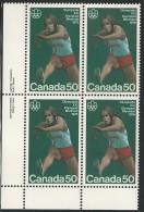 CANADA 1975 SCOTT 666**  PLATE BLOCK  LL - 1952-.... Reign Of Elizabeth II