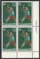 CANADA 1975 SCOTT 666**  PLATE BLOCK  LR - 1952-.... Reign Of Elizabeth II