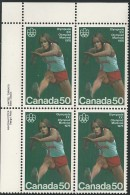 CANADA 1975 SCOTT 666**  PLATE BLOCK  UL - 1952-.... Reign Of Elizabeth II