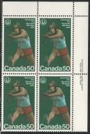 CANADA 1975 SCOTT 666**  PLATE BLOCK  UR - 1952-.... Reign Of Elizabeth II